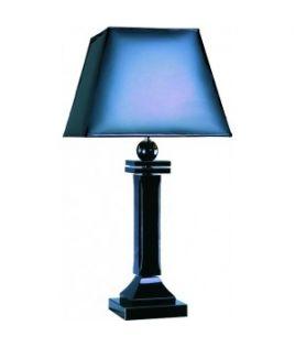 Luminaire colonne bleue