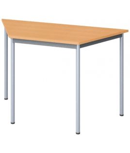 Table polyvalente trapézoîdale