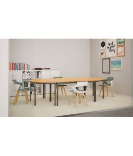 Tables modulaire 4 pieds...