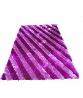 Tapis rayure violet