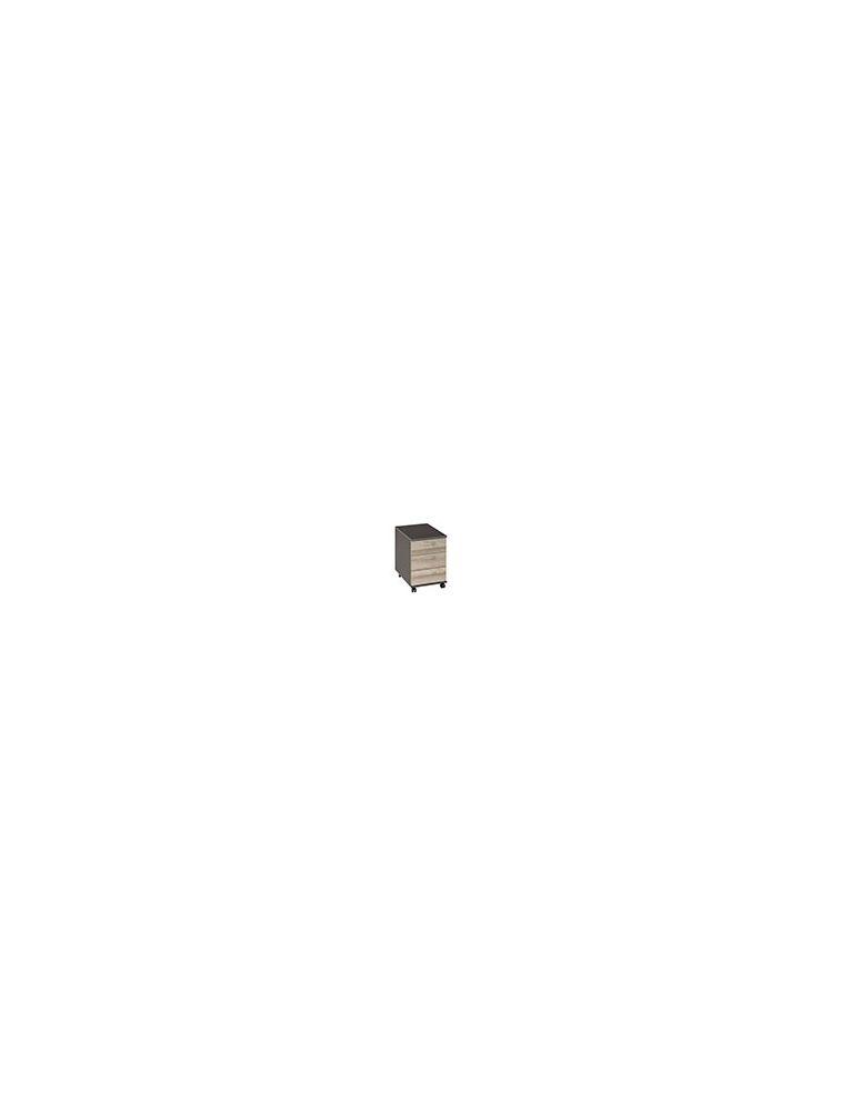 Caisson mobile 3 tiroirs - JAZZ Chêne - GAUTIER