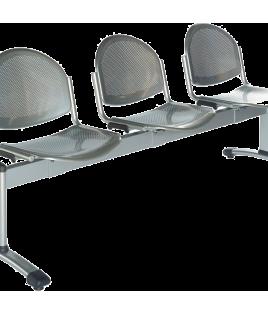 """Chaise """"Sièges en Polypropylène et Polycarbonate"""" métal - Réf ESTELLE 3394 Sitek"""