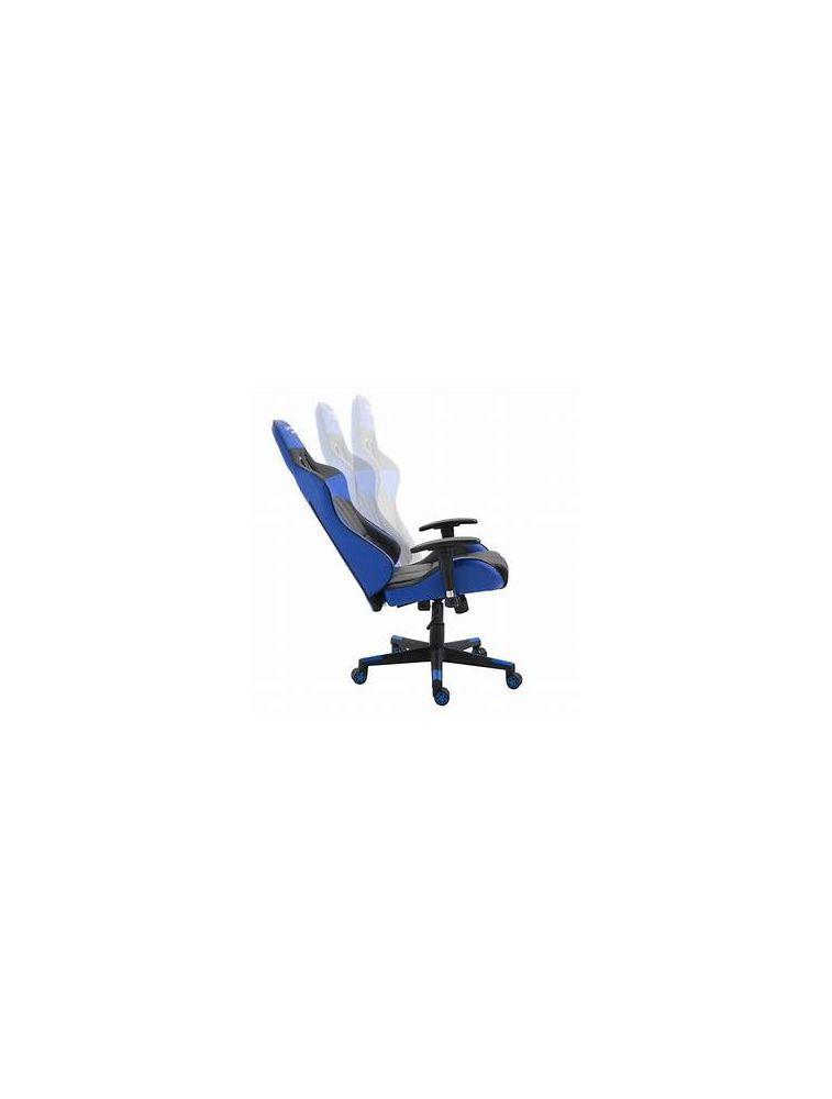 Photo de la chaise coloris bleue et noire