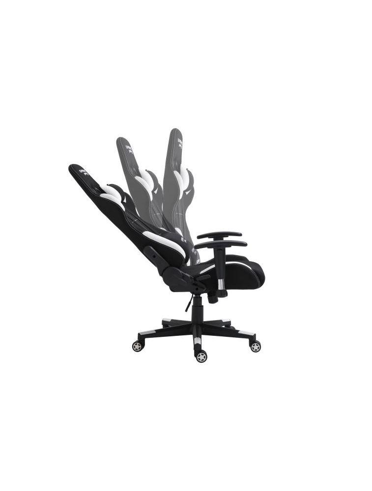 Photo de la chaise coloris blanche et noire