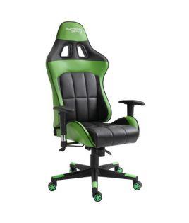 Photo de la chaise coloris verte et noire
