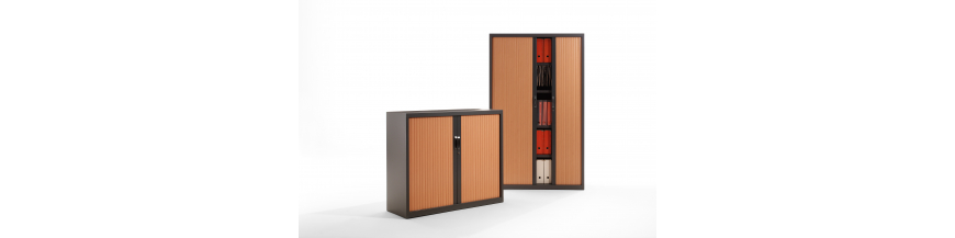 Gapsa - Armoire métallique monobloc à rideaux nouvelle génèration