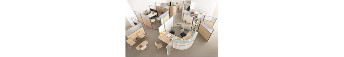 Cloison pour bureau, cloison de séparation pour espace de travail