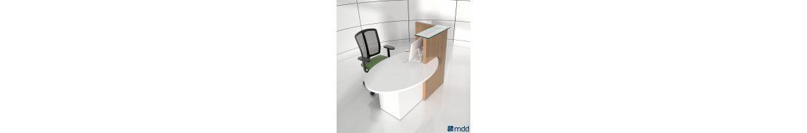 Bureau d'accueil Ovo de la marque Mdd - Livraison gratuite